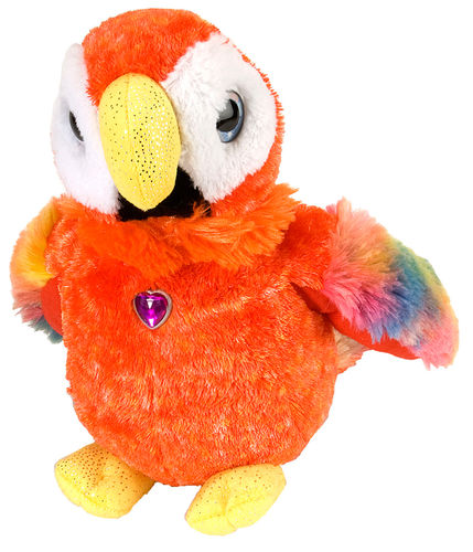 Peluche Wild Republic Perroquet sweet and sassy 30 cm