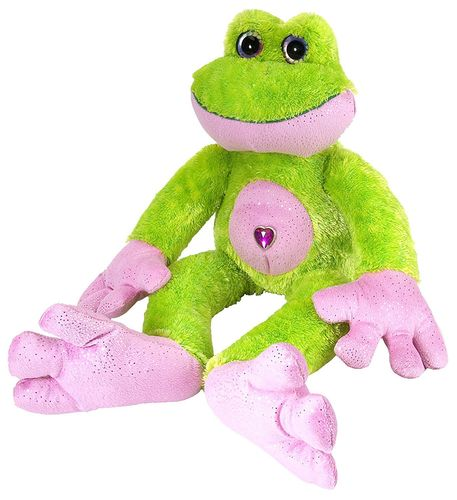 Peluche Grenouille sweet and sassy 30 cm