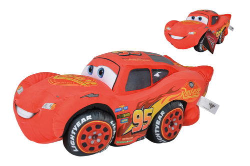 Peluche Disney Cars 3 Flash Mac Queen 45 cm