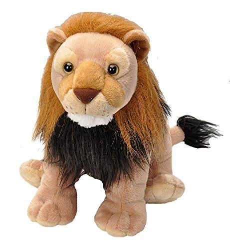 Peluche Wild Republic Lion 30 cm