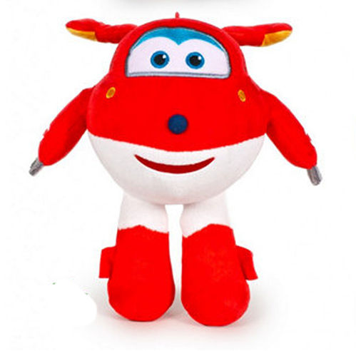 Peluche Super Wings Jett 20 cm