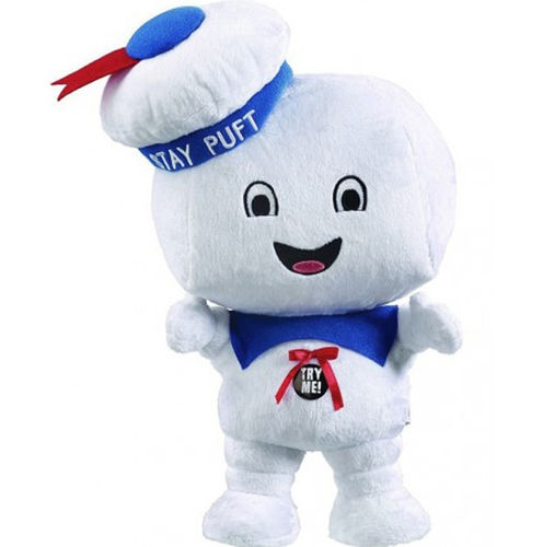 Peluche Ghostbusters Stay Puff sonore 24 cm