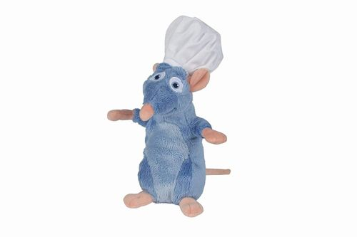 Peluche Disney Ratatouille Remy chef 20 cm