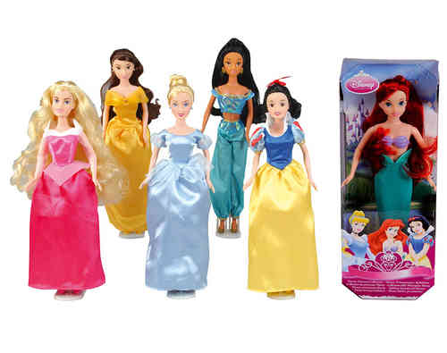 lot de 6 Princesses Disney