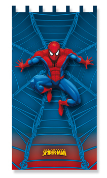 Rideau de chambre spiderman 140 x 260 - Deco chambre spiderman ...