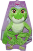 Peluche Grenouille Princesse Tiana 25 cm assise