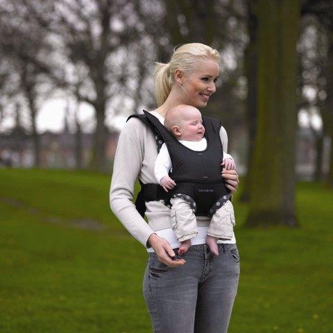 Porte bébé SAMSONITE Monochrome ( noir pois ) e7286939ccc