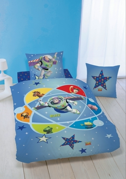 drap housse disney toy story 90 x 190 200. Black Bedroom Furniture Sets. Home Design Ideas