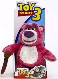 Peluche Toy Story Ours Lotso 25 cm