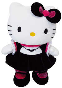 Peluche Hello kitty Gothic rose 27 cm