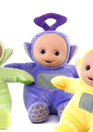 Peluche Teletubbies Violet Tinky Winky 30 cm