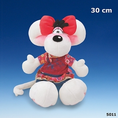 Peluche Diddl Diddlina Happy Flower 30 cm