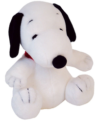 Peluche Snoopy ultra douce 30 cm assis