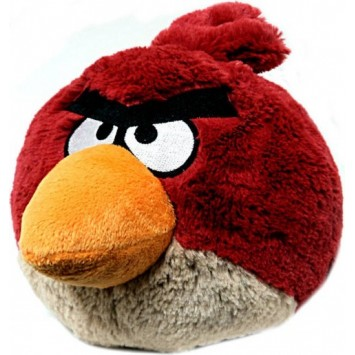 Peluche angry birds rouge 20 cm - Angry birds rouge ...