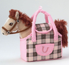 Peluche Grand Galop Cheval Starlight dans un sac 19 cm