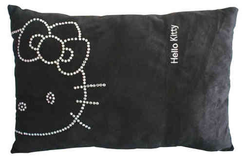 Coussin Hello Kitty Chic Black 28 x 42 cm