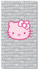 Drap de Plage Hello Kitty Pink grey 85x160 cm