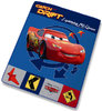 Plaid Polaire Disney Cars Badges 130 x 160 cm
