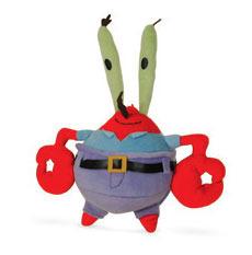 Peluche Mr Krabs 35 Cm Bob L Eponge