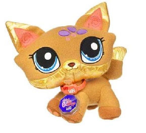 Peluche Pet Shop Chat 23 cm