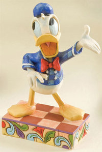 Figurine de Collection Disney Traditions Donald Effusion de coin-coin
