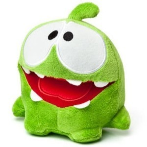 Peluche Cut the Rope 40 cm modèle O