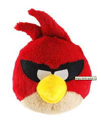 Peluche Angry Birds Space Rouge 13 cm