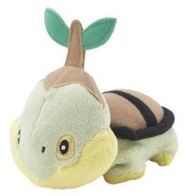 Peluche Pokémon Diamond Pearl Turtwing16 cm