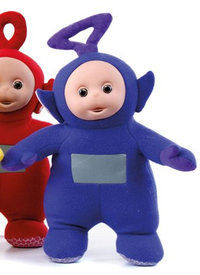 Peluche Teletubbies Tinky Winky Violet 80 cm debout