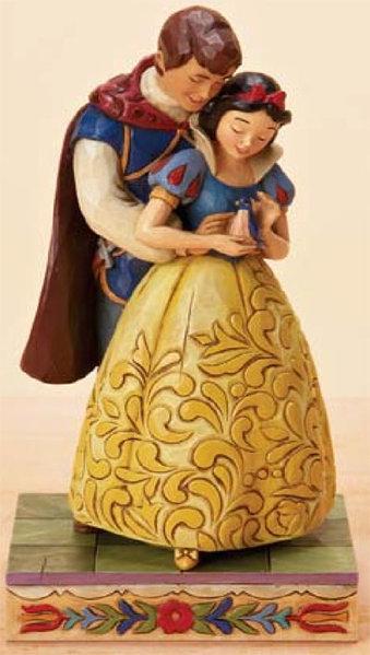 Figurine de collection disney traditions blanche neige - Blanche neige et son prince ...