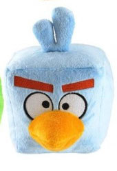 Peluche Angry Birds Space Bleu 13 cm