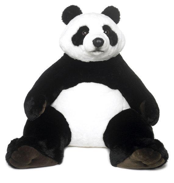 4a35642c707613 Peluche Panda WWF 1 metre Geante