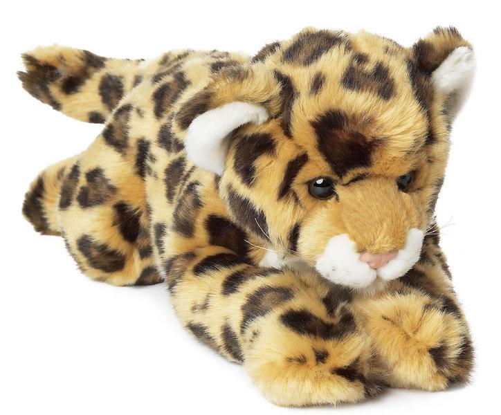 Peluche jaguar wwf couch 36 cm - Bebe du jaguar ...