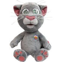 Peluche Talking Tom le chat animée