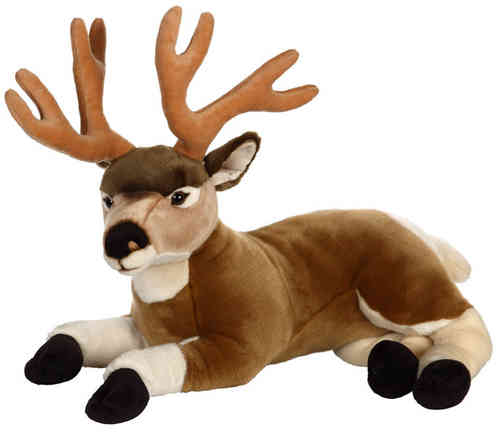 Peluche Cerf Animaux Forêt 60 cm
