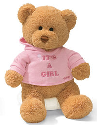 Peluche Ours Gund It's a girl 30 cm