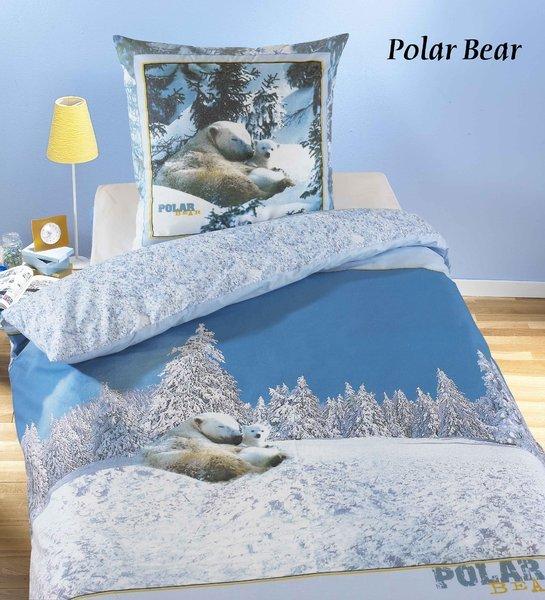 housse de couette ours polaire 1 personne