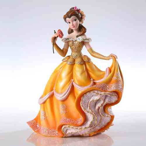 Figurine de Collection Belle et la bete  Disney Traditions haute couture 20 cm