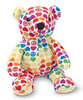 Peluche Ours hope bear peace and love 32 cm
