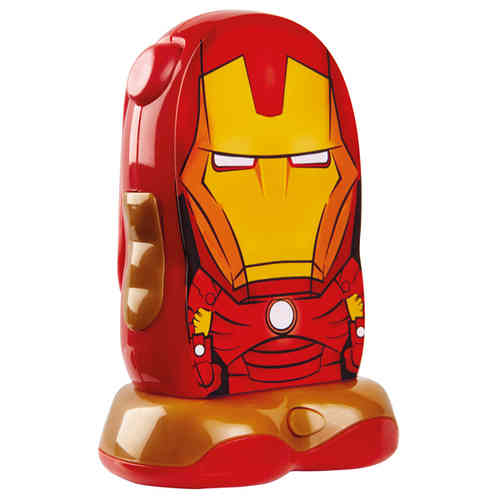 Lampe torche Iron Man Go Glow multifonction