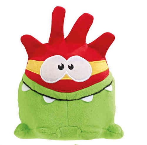 Peluche Cut the Rope OmNom 11 cm Super Héro