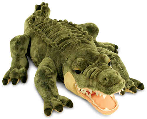 Peluche Crocodile Alligator 66 cm