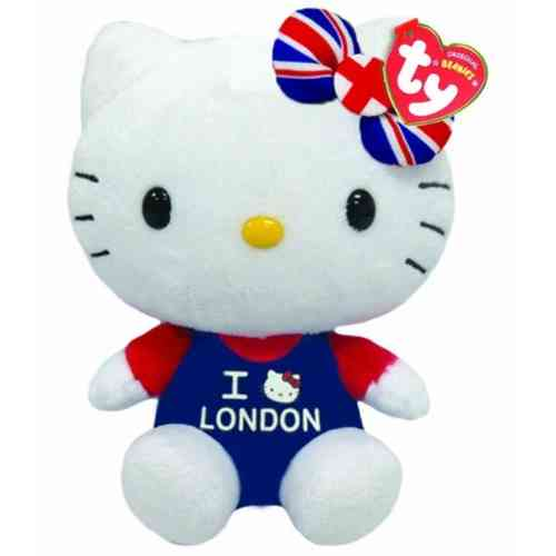 Peluche Hello Kitty I Love London