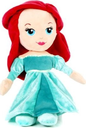 Peluche Disney Princesses Ariel Cute 25 cm
