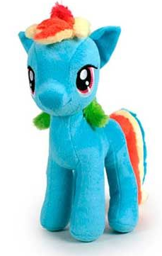 Peluche My little Pony Rainboy dash 30 cm