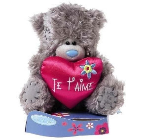 Peluche Me To You Ours Je T'aime 18 cm