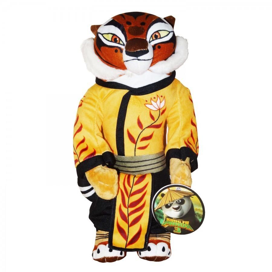 Peluche kung fu panda maitre tigresse 30 cm - Maitre kung fu panda ...