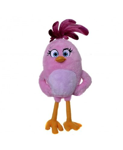 Peluche Angry Birds Stella rose 20 cm