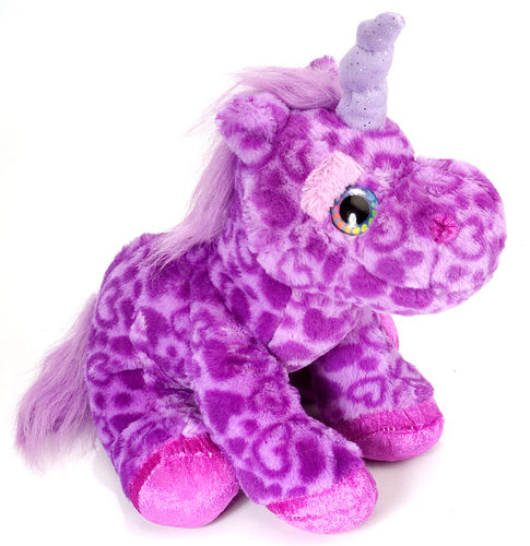 Peluche Wild Republic sweet and sassy licorne 30 cm