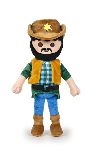 Peluche Playmobil cow boy 30 cm